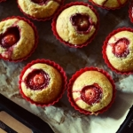 muffinki z truskawkowa ni...
