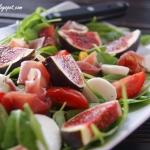 Salatka z figami na rukol...