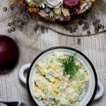 Jesienna salatka z kurcza...