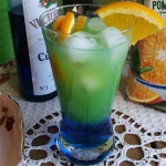 Drink Curacao with orange