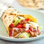 Domowy kebab w placku na...
