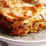 Lasagne bolognese....