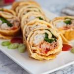 Rolsy sushi jajeczne....