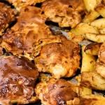 Zapiekane udka z kurczaka
