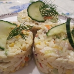 Salatka z Paluszkami Krab...
