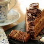 Tort czekoladowy z serem...
