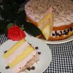 Łatwy tort śmietanowy