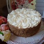 Tort orzechowo -...