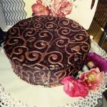 Tort czekoladowo -...