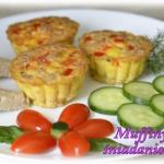Muffiny śniadaniowe