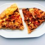 Pizza z kurkami - dwie we...