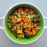 Kasza bulgur z warzywami...