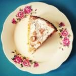 Ucierane ciasto z rabarba...