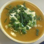 Zupa krem z dyni -z kumin...