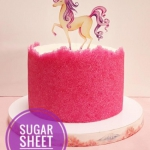 Sugar sheet technique...