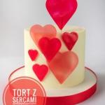 Walentynkowy tort z...