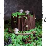Leśny tort w kształcie...