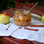 Prażone jabłka z...