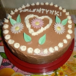 Tort Walentynkowy.
