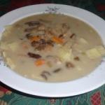 Wigilijna zupa grzybowa...