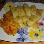 Kopytka z ziemniaków,...