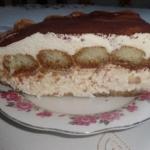 Włoski deser Tiramisu.