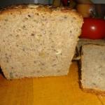 Chleb razowy na żytnim...