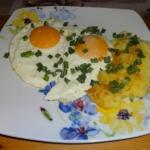Sadzone jajka.
