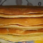 Placki pancakes.