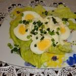 Przystawka z jajek i...