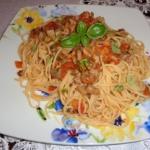 Spaghetti w sosie...