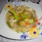 Zupa warzywna z kapustą...