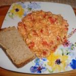 Jajecznica z pomidorami...