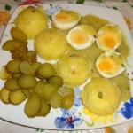 Jajka w sosie...