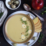 Jablkowa zupa krem z chrz...