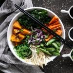 Orientalna salatka z piec...