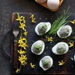 Faszerowane jajka z...