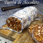 Turrón de chocolate,...