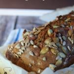Chleb piwno-cebulowy