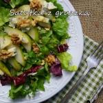 Salatka z gruszką,...