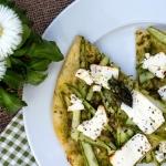 Zielona pizza ze...