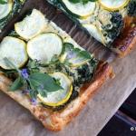 Szybka tarta z warzywami