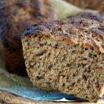 Chleb lniany na zakwasie
