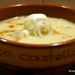 Kremowa zupa porowa