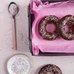 Pieczone donuty z...