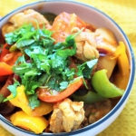 Chicken jalfrezi curry