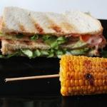 055. grillowana kanapka...