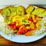 Puszysty omlet + masło...