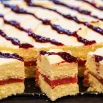 Ciasto z masą waniliową