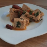 Smażone tofu z...